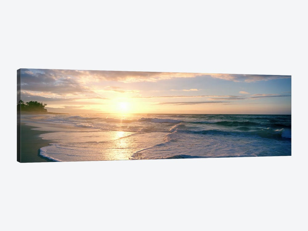 Sunset over the sea by Panoramic Images 1-piece Canvas Art Print
