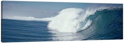 Waves splashing in the sea Canvas Print #PIM9059