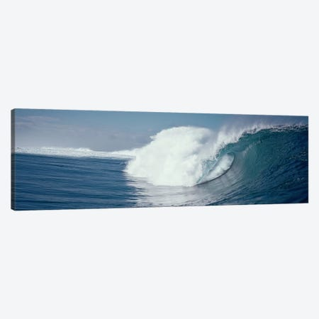 Waves splashing in the sea Canvas Print #PIM9059} by Panoramic Images Canvas Art Print