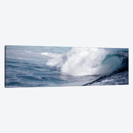 Waves splashing in the sea Canvas Print #PIM9060} by Panoramic Images Canvas Wall Art