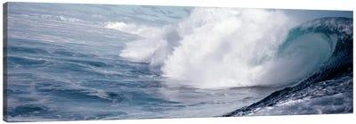 Waves splashing in the sea Canvas Print #PIM9060