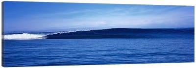 Waves splashing in the sea Canvas Print #PIM9061