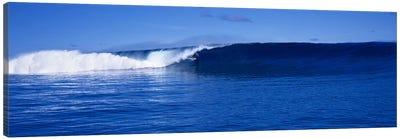 Waves splashing in the sea Canvas Print #PIM9063