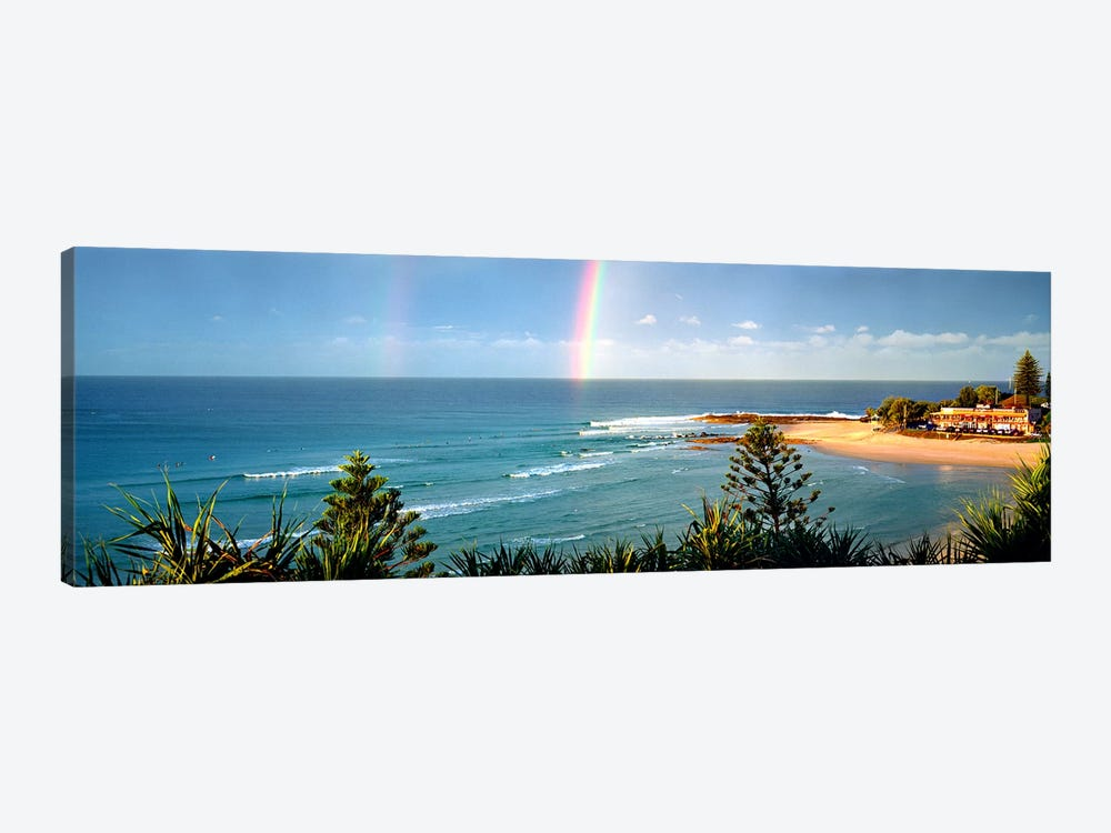 Rainbow over the sea by Panoramic Images 1-piece Art Print