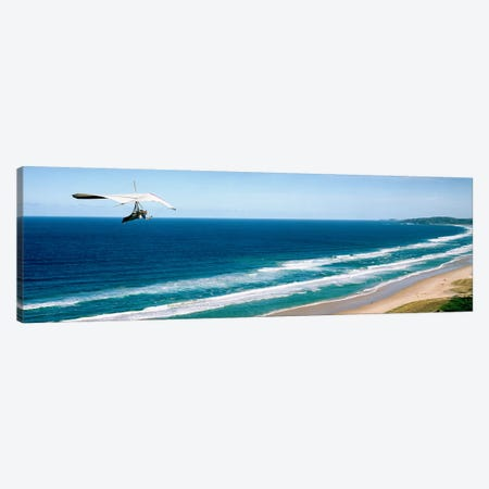 Hang glider over the sea Canvas Print #PIM9074} by Panoramic Images Canvas Artwork