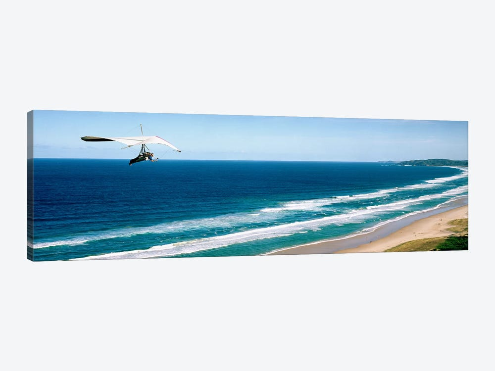 Hang glider over the sea by Panoramic Images 1-piece Canvas Artwork