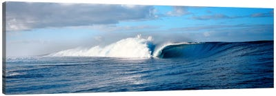 Waves splashing in the sea Canvas Print #PIM9076