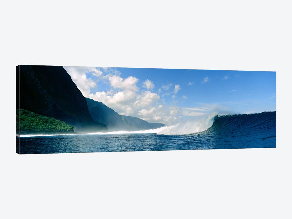 Waves in the sea by Panoramic Images 1-piece Canvas Art Print