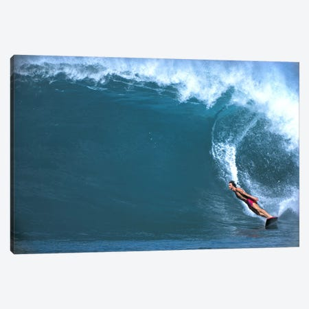 Man surfing in the sea Canvas Print #PIM9113} by Panoramic Images Canvas Artwork