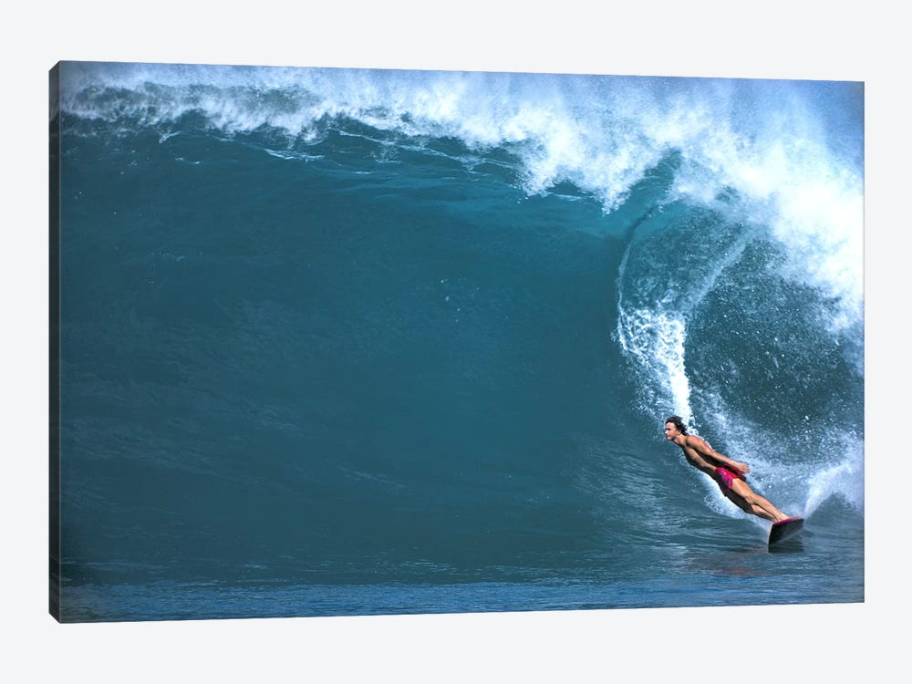 Man surfing in the sea by Panoramic Images 1-piece Canvas Art