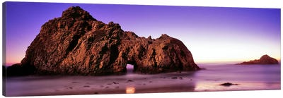 Rock formations on the beach, Pfeiffer Beach, Big Sur, California, USA Canvas Print #PIM9124