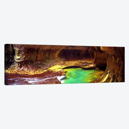 The Subway, Zion National Park, Utah, USA Canvas Print #PIM9133} by Panoramic Images Canvas Wall Art