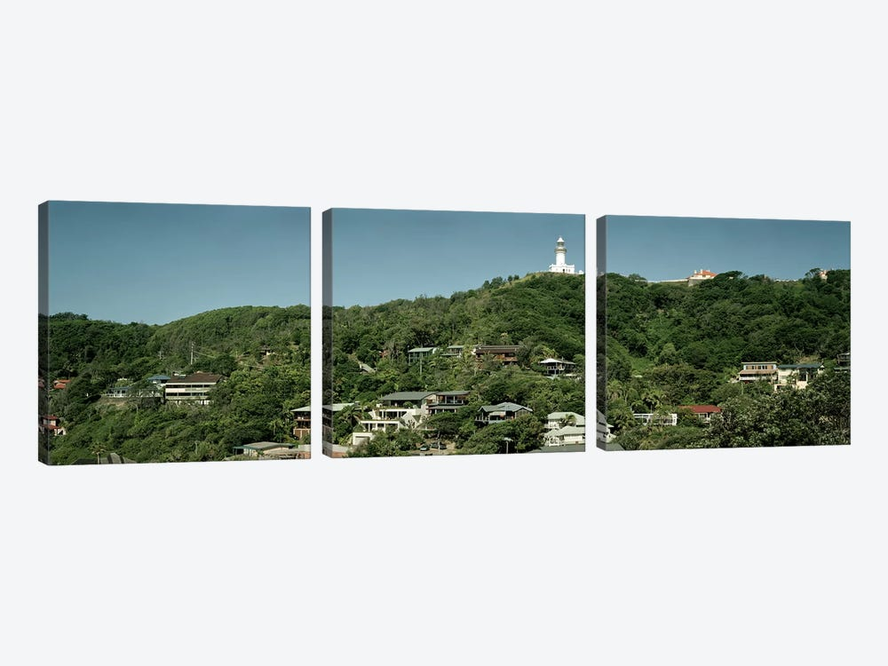 Lighthouse on a hill by Panoramic Images 3-piece Canvas Wall Art