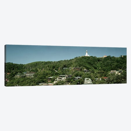 Lighthouse on a hill Canvas Print #PIM9135} by Panoramic Images Art Print