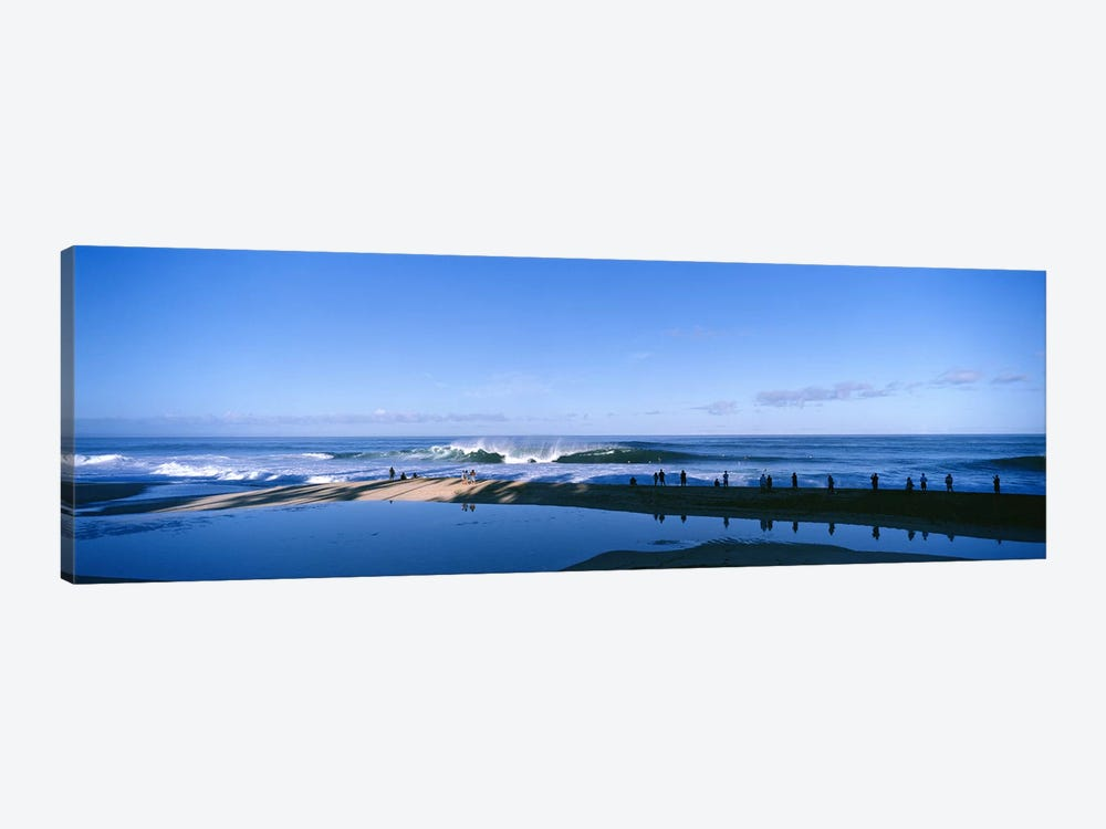 Waves in the sea by Panoramic Images 1-piece Canvas Artwork