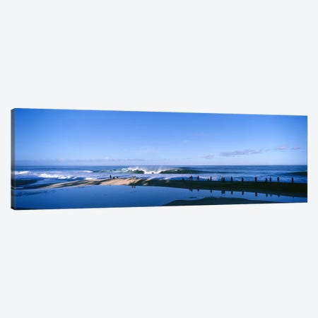 Waves in the sea Canvas Print #PIM9151} by Panoramic Images Canvas Wall Art