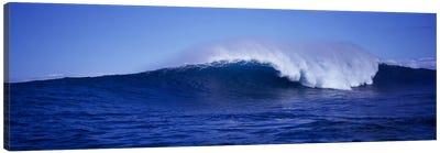 Waves splashing in the sea Canvas Print #PIM9152