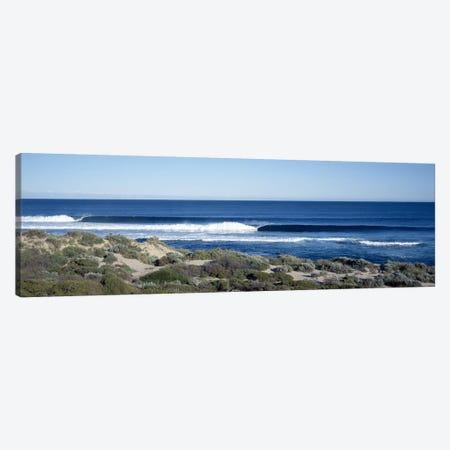 Waves in the sea Canvas Print #PIM9154} by Panoramic Images Canvas Art Print
