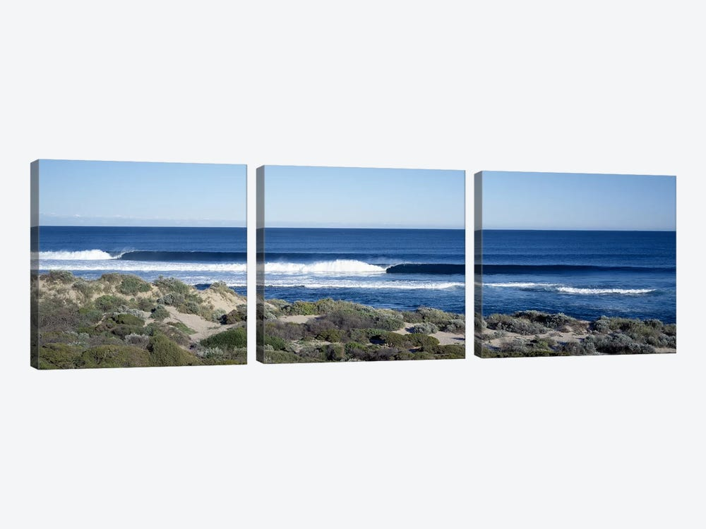 Waves in the sea by Panoramic Images 3-piece Art Print