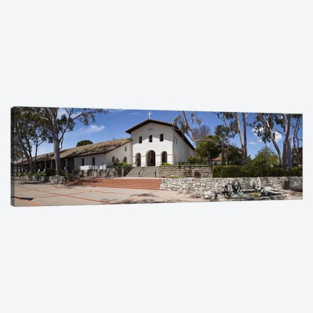 Facade of a church, Mission San Luis Obispo, San Luis Obispo, San Luis Obispo County, California, USA Canvas Print #PIM9157} by Panoramic Images Canvas Art Print