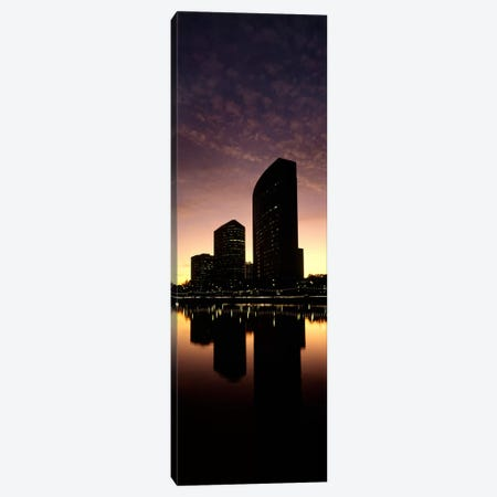 Buildings at the waterfront, Lake Merritt, Oakland, Alameda County, California, USA Canvas Print #PIM9160} by Panoramic Images Canvas Art Print