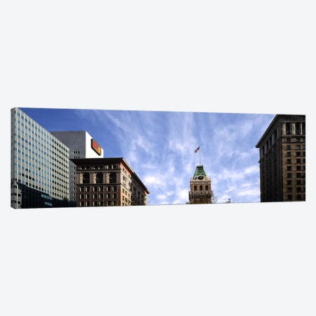 Buildings in a city, Tribune Tower, Oakland, Alameda County, California, USA Canvas Print #PIM9163} by Panoramic Images Art Print