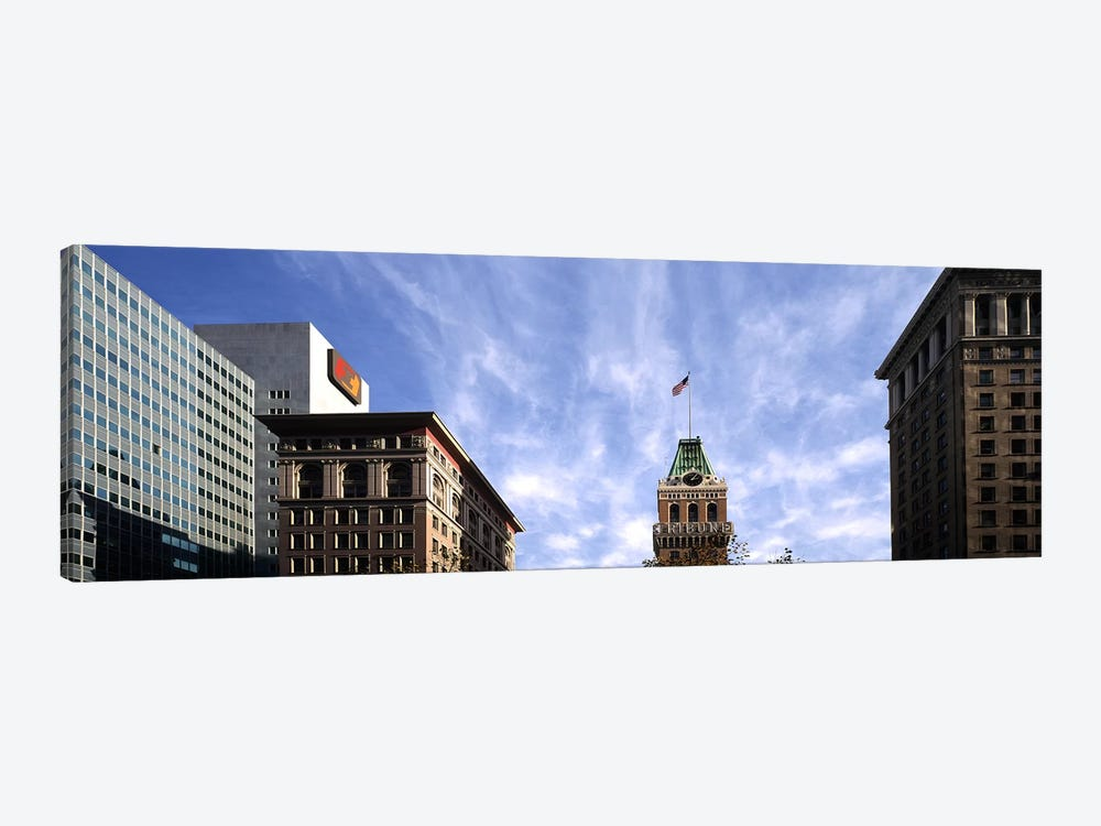 Buildings in a city, Tribune Tower, Oakland, Alameda County, California, USA by Panoramic Images 1-piece Canvas Art Print