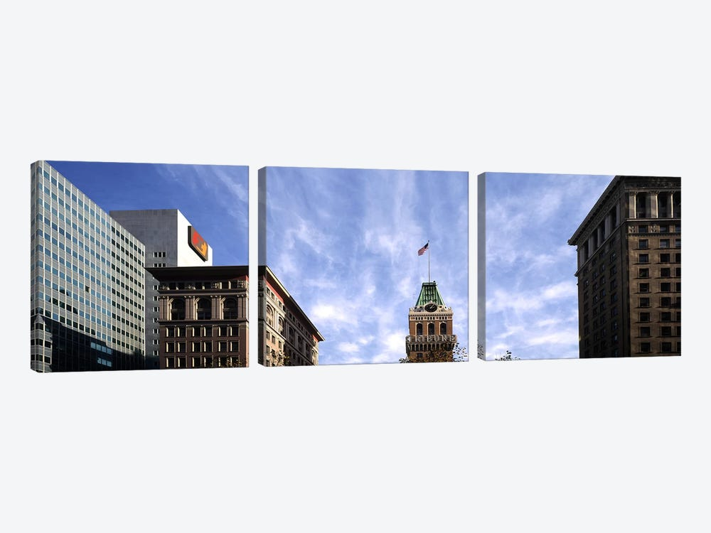 Buildings in a city, Tribune Tower, Oakland, Alameda County, California, USA by Panoramic Images 3-piece Canvas Art Print