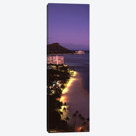 Buildings at the waterfront, Honolulu, Oahu, Honolulu County, Hawaii, USA #2 Canvas Print #PIM9187} by Panoramic Images Canvas Wall Art