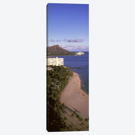 Buildings at the waterfront, Honolulu, Oahu, Honolulu County, Hawaii, USA #3 Canvas Print #PIM9188} by Panoramic Images Canvas Art Print