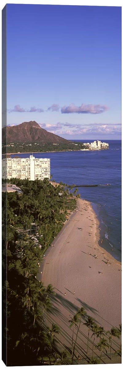 Buildings at the waterfront, Honolulu, Oahu, Honolulu County, Hawaii, USA #3 Canvas Print #PIM9188