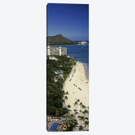 Buildings at the waterfront, Honolulu, Oahu, Honolulu County, Hawaii, USA #4 Canvas Print #PIM9189} by Panoramic Images Canvas Print