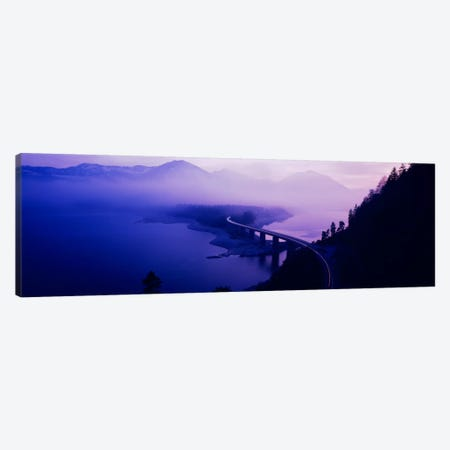 Twilight road Germany Canvas Print #PIM919} by Panoramic Images Canvas Art
