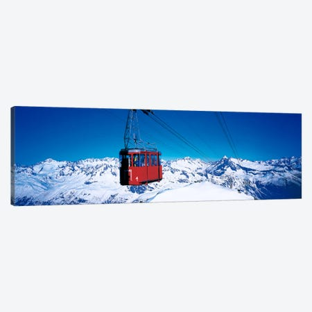 Cable Car Andermatt Switzerland Canvas Print #PIM91} by Panoramic Images Art Print