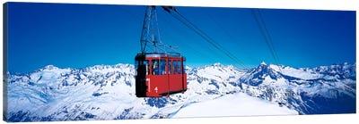 Cable Car Andermatt Switzerland Canvas Print #PIM91