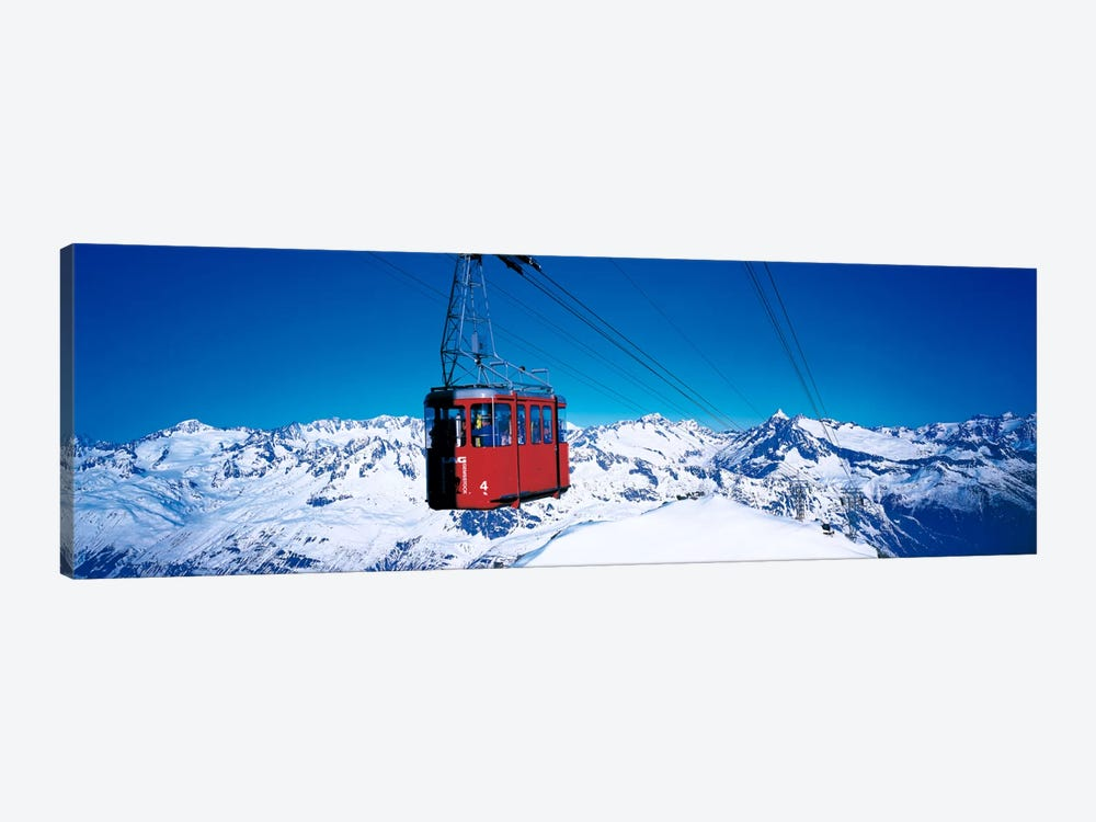 Cable Car Andermatt Switzerland by Panoramic Images 1-piece Canvas Wall Art
