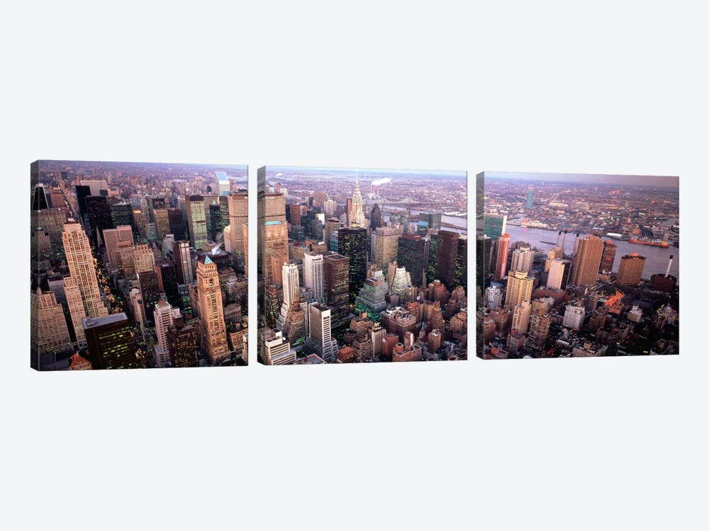 New York NY USA by Panoramic Images 3-piece Canvas Artwork