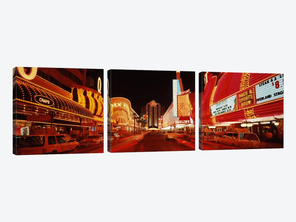 Las Vegas NV USA #2 by Panoramic Images 3-piece Canvas Print