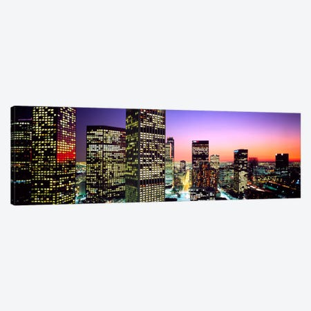 Downtown Los Angeles CA USA Canvas Print #PIM922} by Panoramic Images Canvas Print
