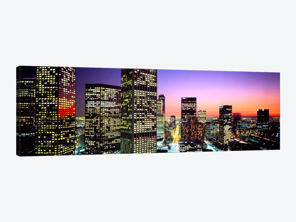 Downtown Los Angeles CA USA by Panoramic Images 1-piece Canvas Art