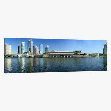 Buildings at the waterfront, Tampa, Hillsborough County, Florida, USA Canvas Print #PIM9251} by Panoramic Images Art Print