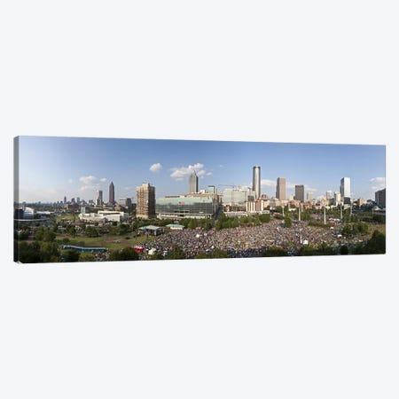Fourth of July Festival, Centennial Olympic Park, Atlanta, Georgia, USA Canvas Print #PIM9252} by Panoramic Images Canvas Print