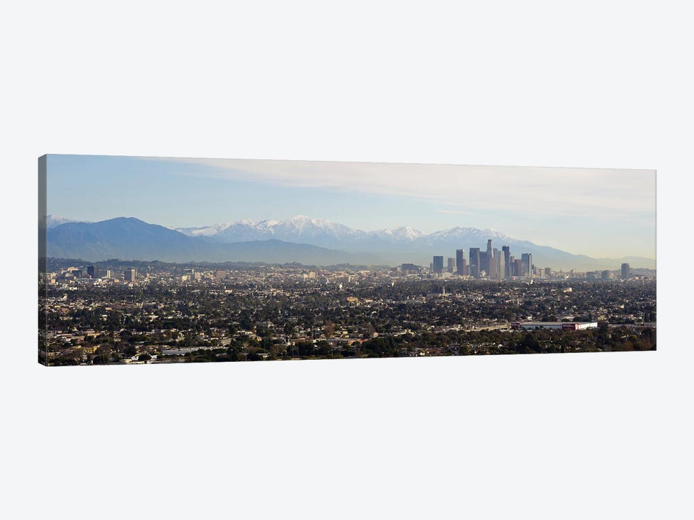 High angle view of a city, Los Angeles, California, USA #2 by Panoramic Images 1-piece Art Print