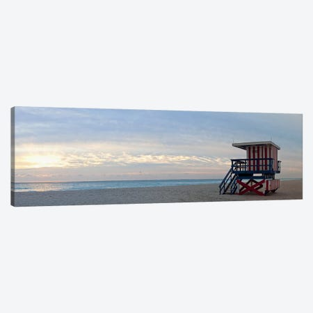 Lifeguard on the beach, Miami, Miami-Dade County, Florida, USA Canvas Print #PIM9274} by Panoramic Images Canvas Art