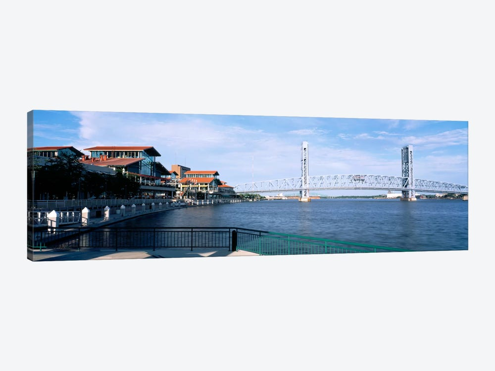 Bridge Over A River, Main Street, St. Johns River, Jacksonville, Florida, USA by Panoramic Images 1-piece Art Print