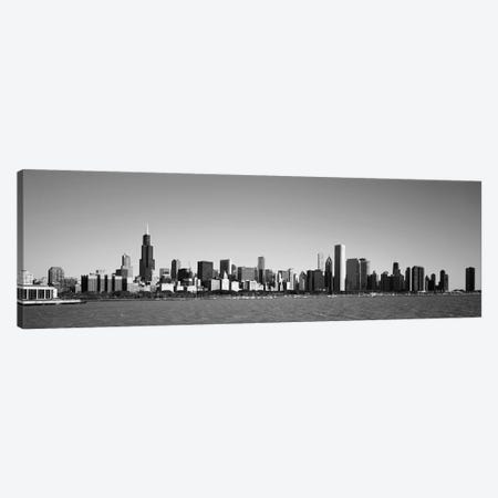 Skyscrapers at the waterfront, Willis Tower, Chicago, Cook County, Illinois, USA Canvas Print #PIM9280} by Panoramic Images Canvas Artwork