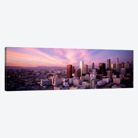 High Angle View of The CityLos Angeles, California, USA, Canvas Print #PIM928} by Panoramic Images Canvas Art Print