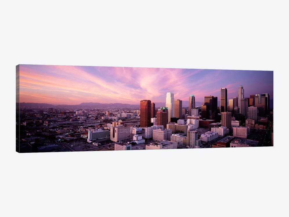 High Angle View of The CityLos Angeles, California, USA, by Panoramic Images 1-piece Canvas Artwork