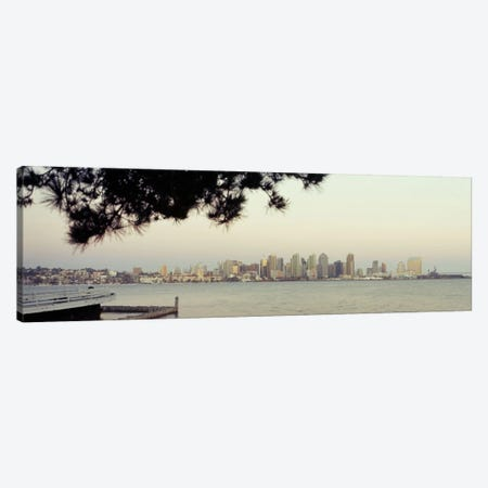 Buildings at the waterfront, San Diego, California, USA #5 Canvas Print #PIM9290} by Panoramic Images Art Print