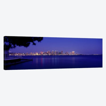 Buildings at the waterfront, San Diego, California, USA #6 Canvas Print #PIM9291} by Panoramic Images Art Print